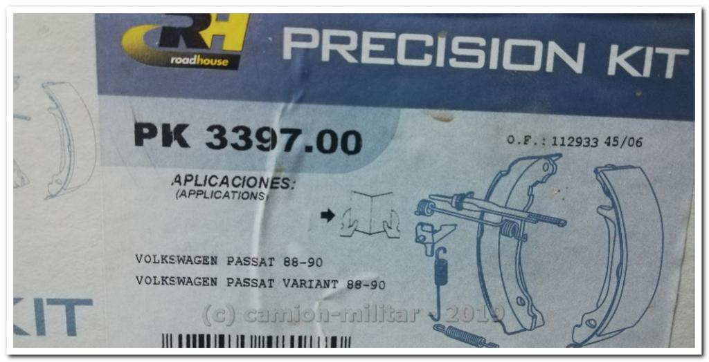 SPK339700 ROAD HOUSE KIT de frenos.disco de tambor. AUDI 100 C4 Avant B75