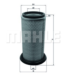 ESR1049 - LX822 Filtro aire  Mahle LAND ROVER Defender Discovery
