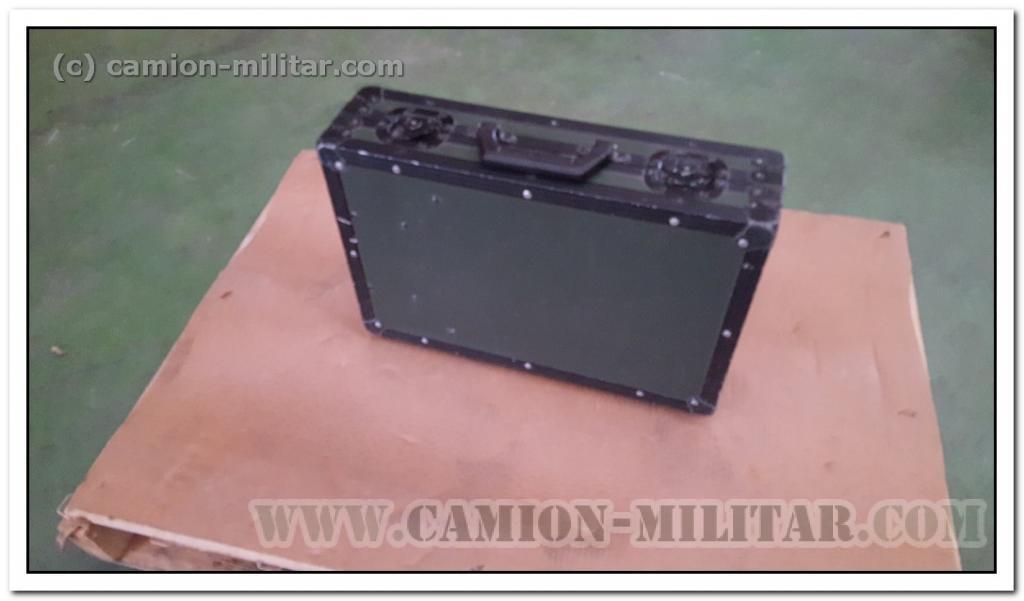 Maletin Militar rugorizado original portatil